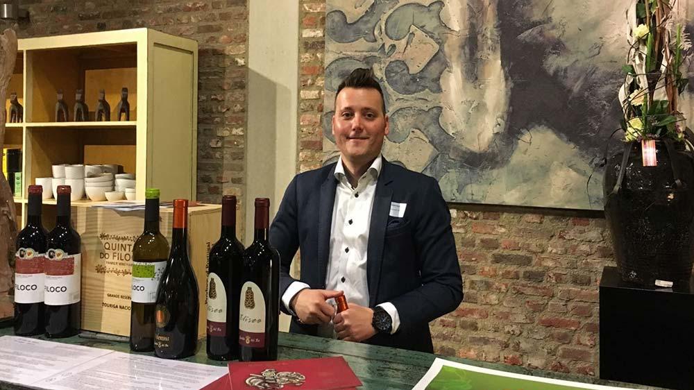 wijn handelaar Kristof Hojniak