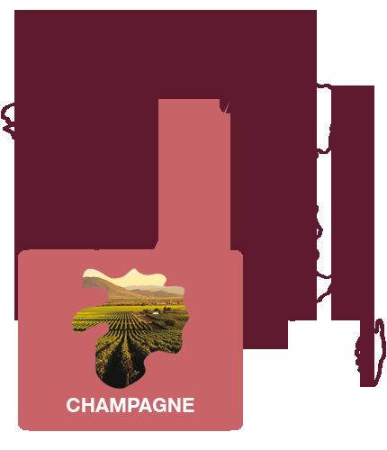 Franse wijnen wijnregio champagne