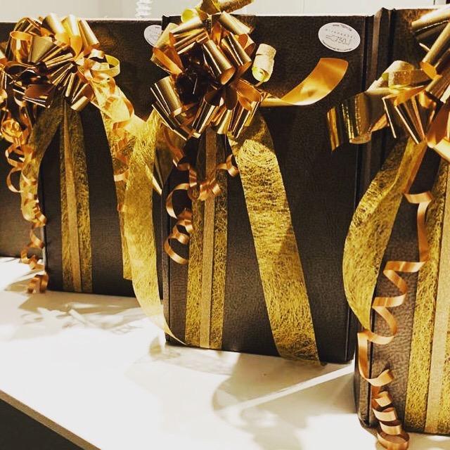 Cadeaus met strik
